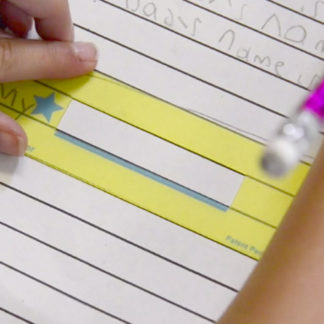 Star Spacer Handwriting Tool